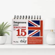 "Calendarul ""Improve your english in 15 minutes a day"""